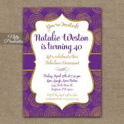 register for housewarming purple gold birthday invitations nifty printables