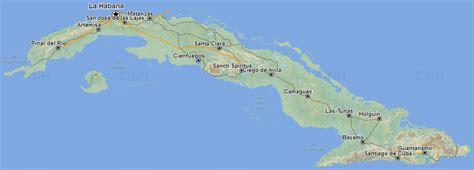 travel maps  cuba cubamapaorg