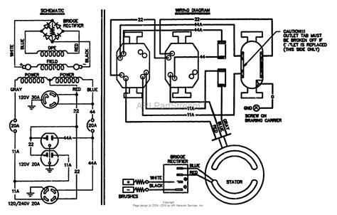 generac generator wiring schematic electrical generac