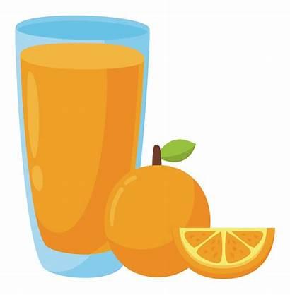 Juice Orange Clipart Clip Juices Onlinelabels Transparent