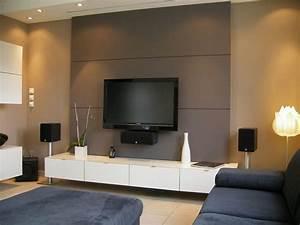Fixer Une Télé Au Mur : album 4 banc tv besta ikea r alisations clients ~ Premium-room.com Idées de Décoration