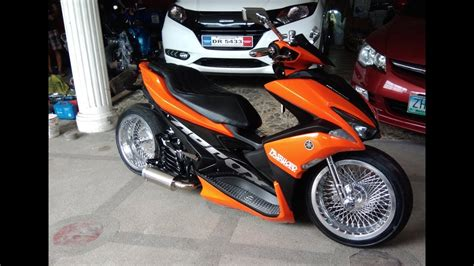 Modifikasi Aerox 155 by Yamaha Aerox 155 Done 2nd Aerox Build Password