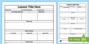 lesson plan form lesson plan australia planning template With lesson plan template qld