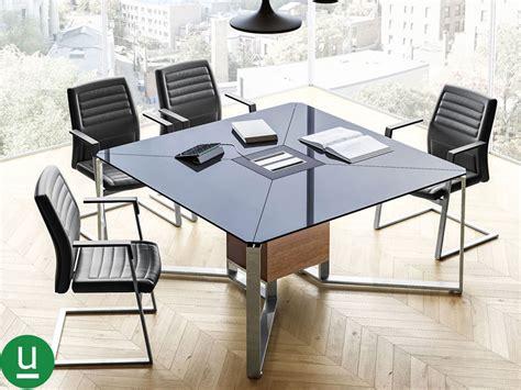 tavoli da riunione per ufficio tavolo riunioni in cristallo per ufficio i meet di las