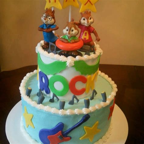 alvin and the chipmunks cake decorations 17 best images about cakes chipmunk on