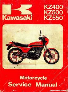 Kawasaki Kz400 Kz500 Kz550 Motorcycle Service Manual