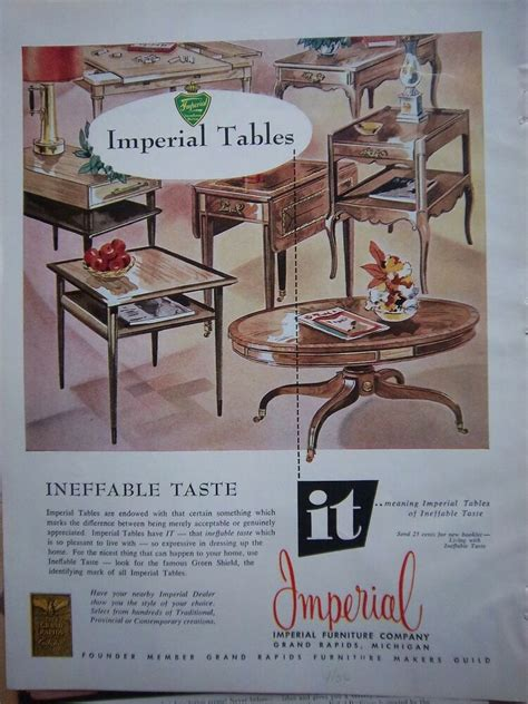 Grand Rapids Upholstery by 1956 Vintage Imperial Furniture Company Grand Rapids Mi