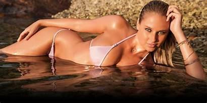 Illustrated Swimsuit Sports Models Genevieve Morton Bikini