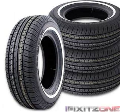 2 milestar tires ms775 155 80r13 79s a s white wall 155 80 13 1558013 new ebay