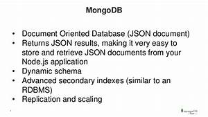 mongodb days silicon valley building applications with With mongodb all documents