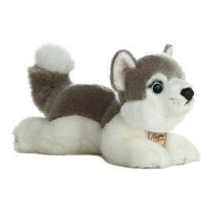 husky   miyoni dog puppy stuffed animal