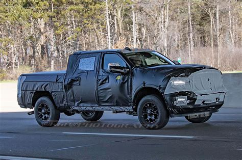 2020 Dodge Heavy Duty by Spied 2020 Ram Heavy Duty Loses Crosshairs