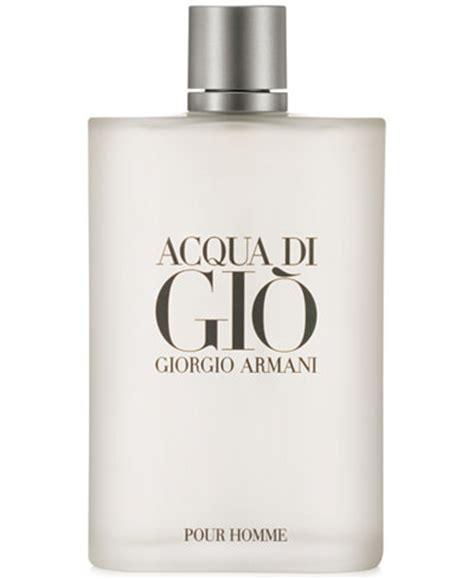 giorgio armani acqua di gio eau de toilette spray 6 7 oz shop all brands macy s