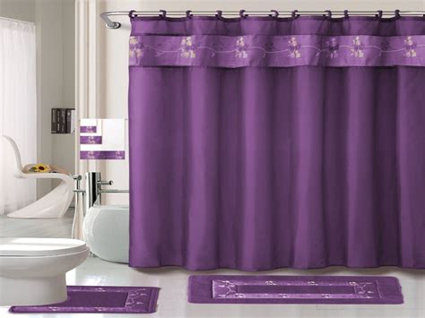 Shower Curtains : Purple Shower Curtain Garden Tub