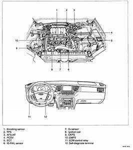 I Have A 2005 Sedona Ex With Code P0320 The Tach Operates Erratically Jumping Up And Down But