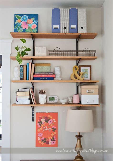 stylish inspiration wall track shelving garage mounted