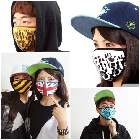 graphic snowboarding skiing face mask fashion korean kpop