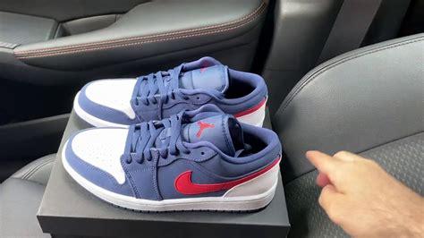 Air Jordan 1 Low Usa Sneakers Youtube