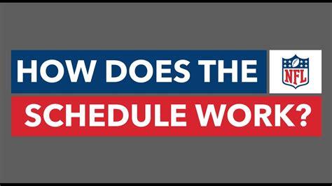 nfl schedule work youtube