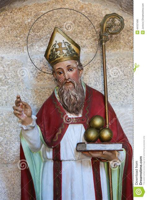 sankt nikolaus stockfoto bild von bart nicholas bishop