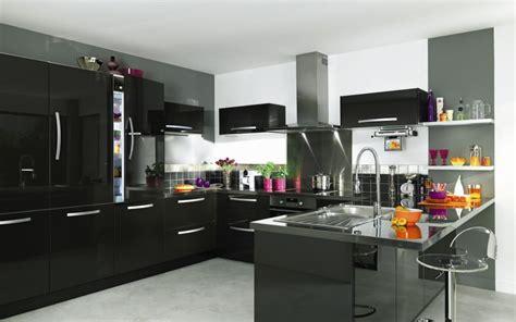 cuisine americaine design beautiful cuisine americaine noir et blanc ideas design