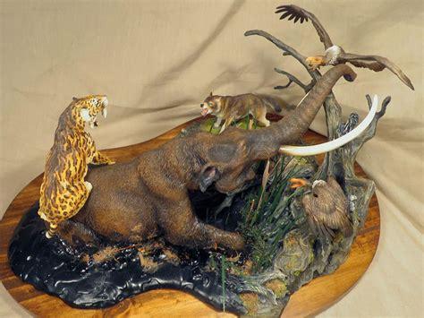 La Brea Tar Pit Diorama Prehistoric Mammal Model Kit By