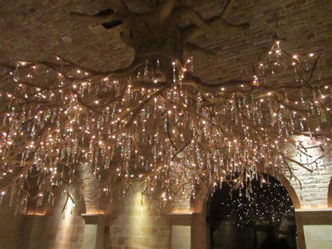 decor appealing tree branch chandelier  unique glass