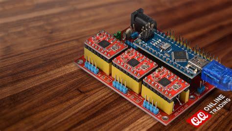 cnc shield v4 for arduino nano stepper motor controller