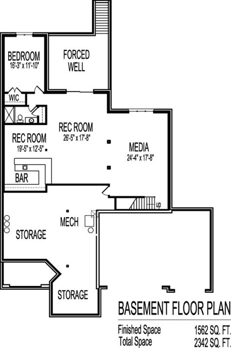 2 Bedroom House Plans With Open Floor Plan Bungalow With