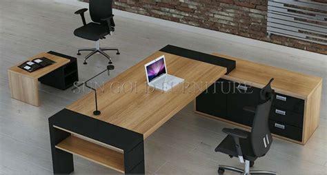 amazone bureau bois mobilier de bureau moderne grand bureau exécutif sz