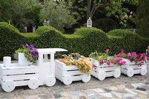 Palettenmöbel Garten Selber Machen : deko zug selber machen sch ne gartendekoration wenn sie alte holzk rbe haben k nnen sie ganz ~ Eleganceandgraceweddings.com Haus und Dekorationen