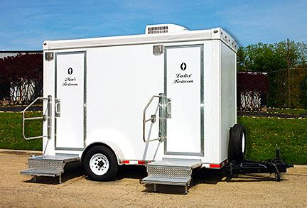 restroom trailer rental happy party event rentals
