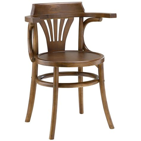 Stretch Modern Rustic Solid Wood Round Seat Dining Side