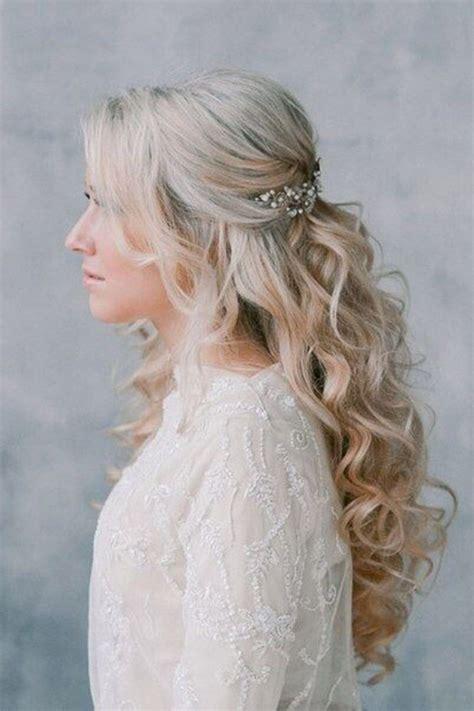 17 best ideas about half up half down wedding hair on