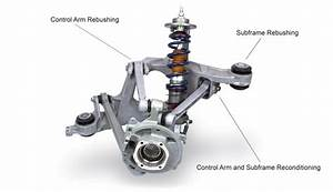 Elephant Racing  U2022 Rear Suspension Arm Services For Porsche 993
