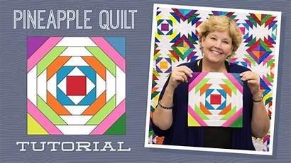 Pineapple Quilt Jenny Quilting Pattern Tutorial Missouri