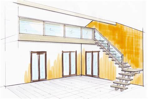 escalier mezzanine en bois vernier cinstruction