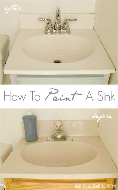can you paint a sink how to paint a sink hometalk