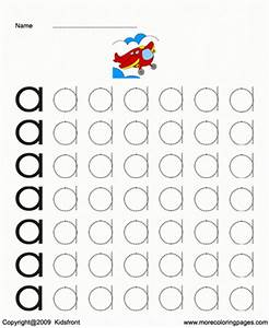 Printable small letter dot to dots a coloring worksheets for Dots alphabet letter