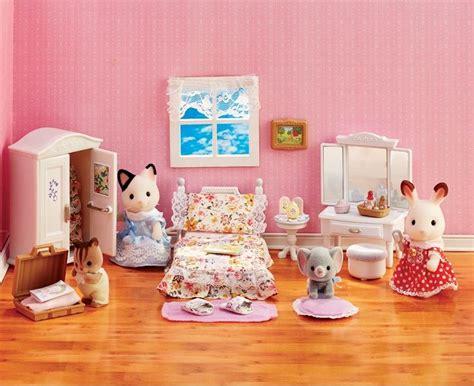 Calico Critters Girl's Lavender Bedroom Furniture Set