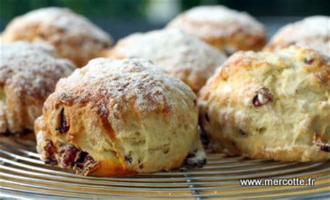 scones aux cranberries retour d irlande la cuisine de