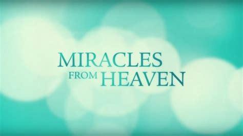 film miracles  heaven diangkat  kisah nyata
