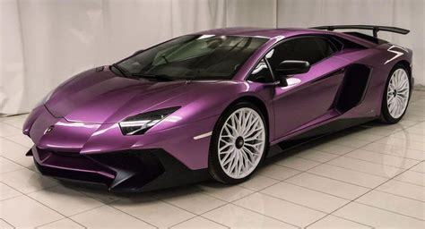 how much is a 2018 lamborghini aventador sv roadster purple lamborghini aventador sv perfect for the refined millionaire carscoops