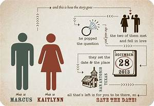 fabulous save the date infographic card via wedding paper With wedding invitation infographic template