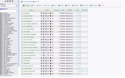 sql list all tables the list of database tables run sql query table