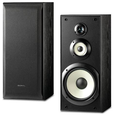 sony bookshelf speakers sony ss b3000 3 way bookshelf speakers ss b3000 b h photo