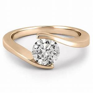 floating diamond ring floating diamond engagement ring With wedding diamonds rings