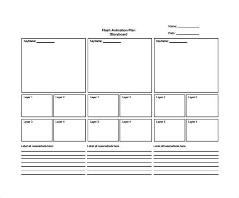 storyboard template 82 storyboard templates pdf ppt doc psd free premium templates
