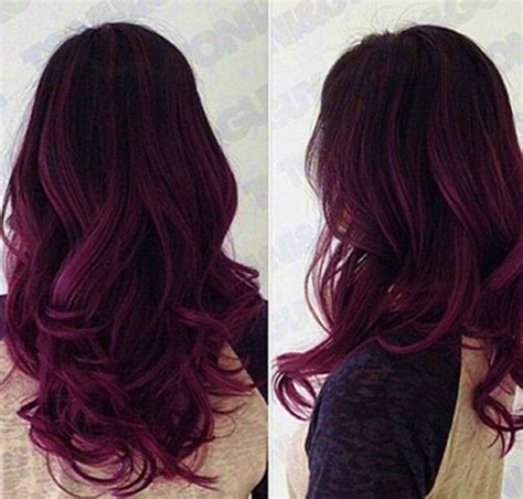 purple hair color for hair 25 ombre hair color ideas for 2017 pretty designs