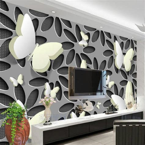 rectangle modern custom wallpaper  walls rs  square